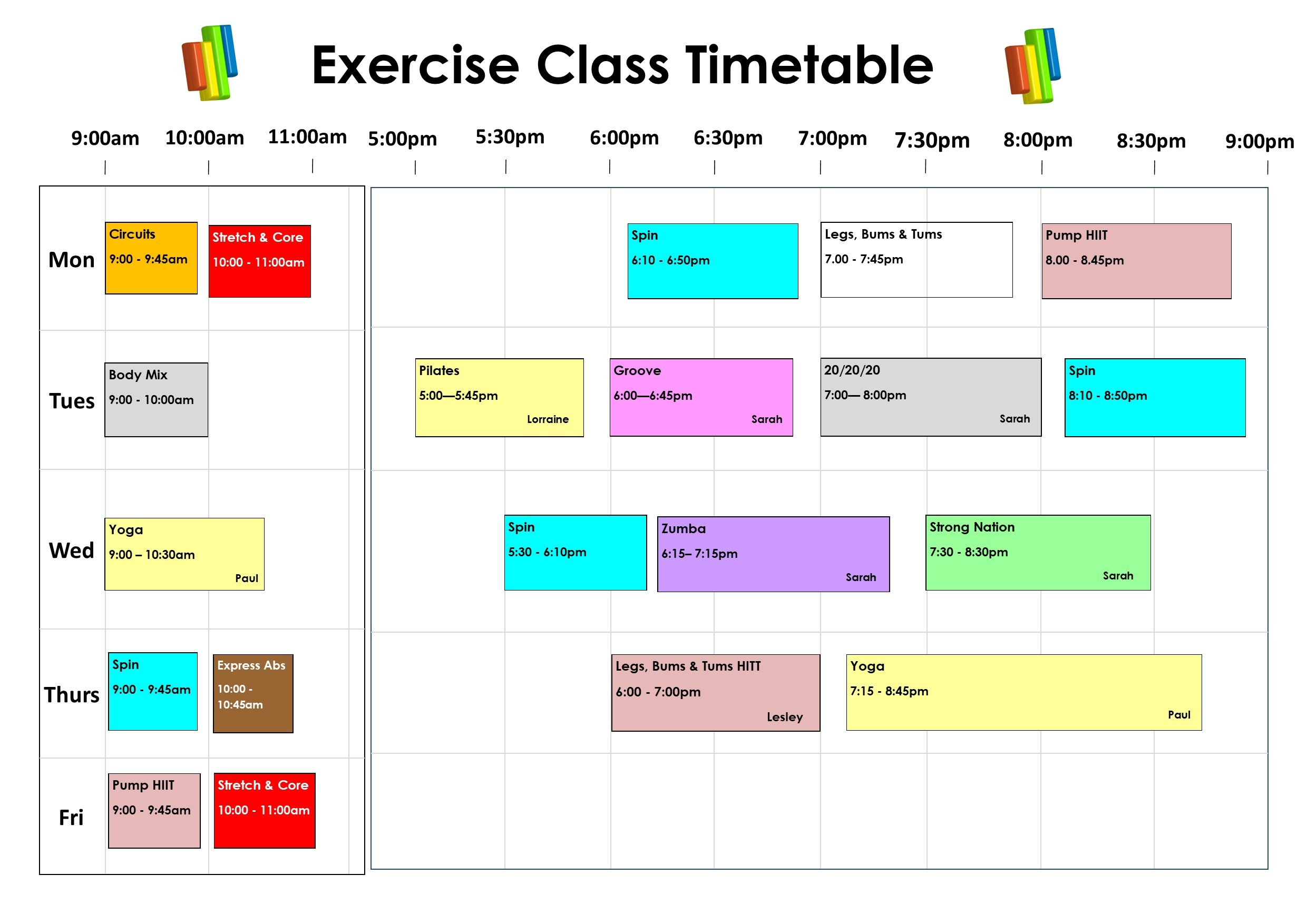 ADJUSTABLE TIMETABLE CURRENT whole COVID